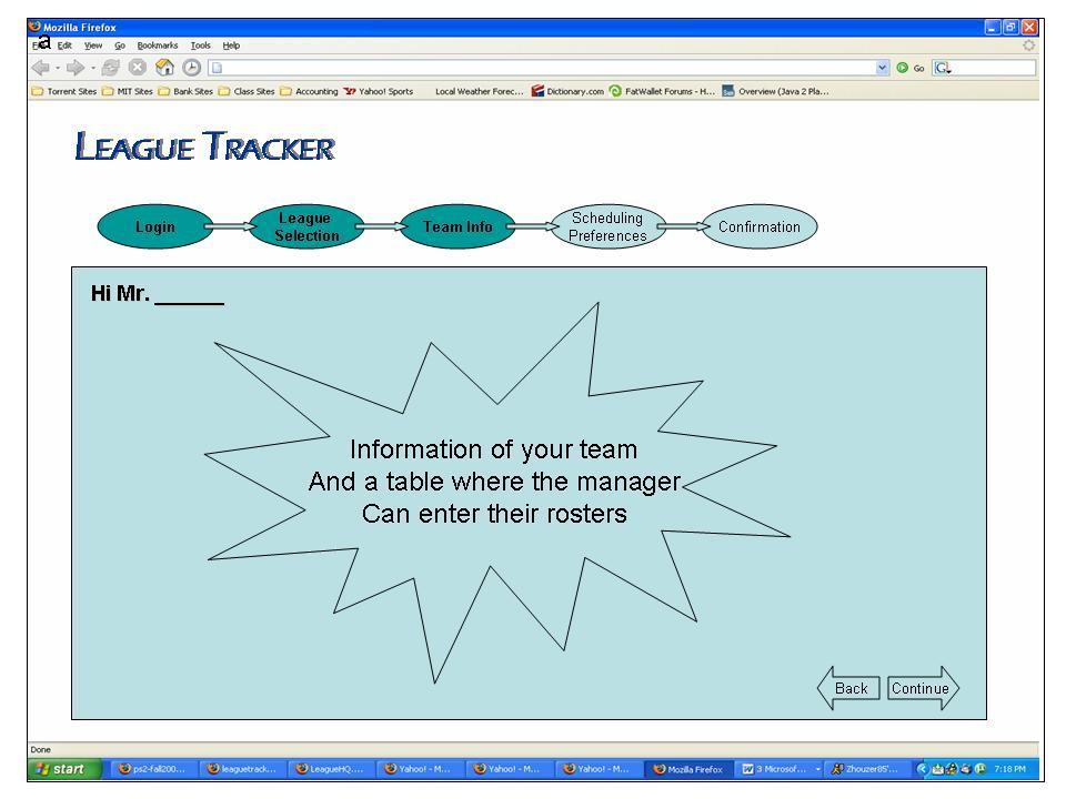 league tracker