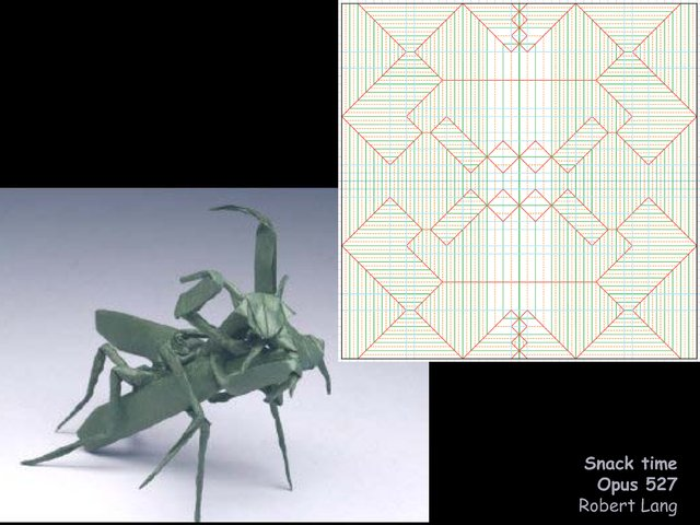Images And Design By Robert Lang Langorigami Art Gallery Galleryphp4namesnack Time Insects Snack Cppdf