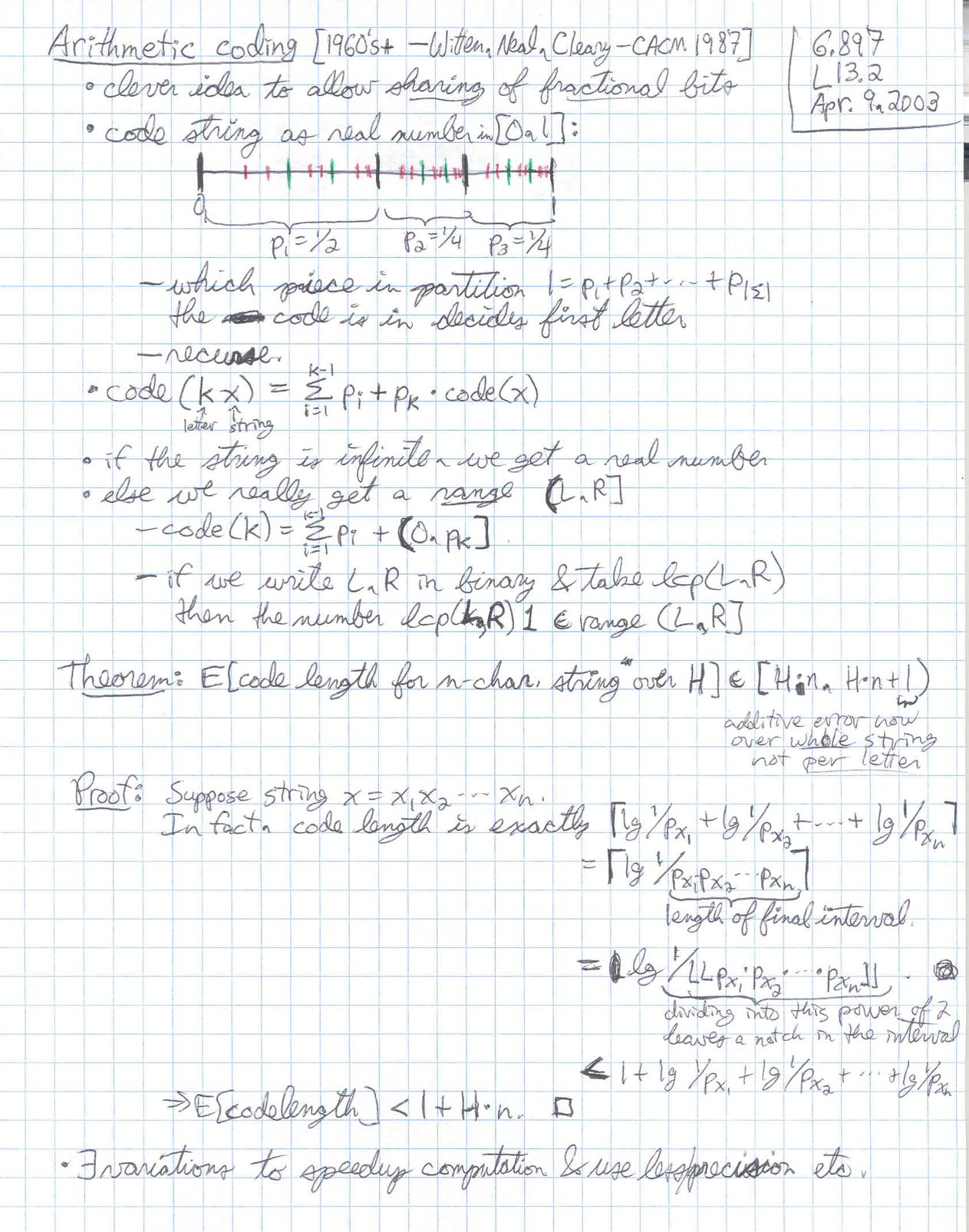 Lecture 13 page 2 at 150 DPI -- 6 897, Advanced Data